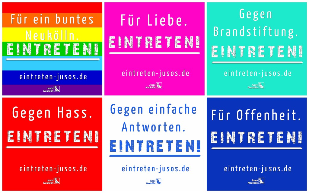 Eintreten Jusos Neukölln SPD