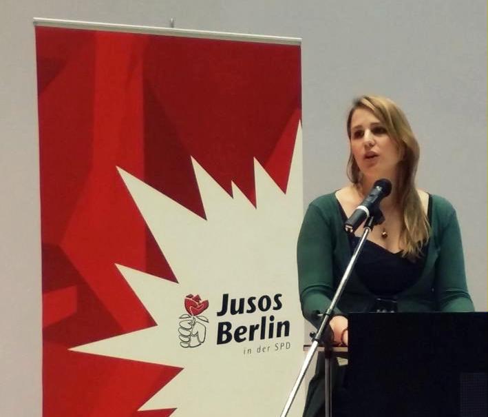 stellv. Landesvorsitzende Rejane Herwig